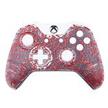 Xbox One Controller: 3D Splash Red & White screen shot 1