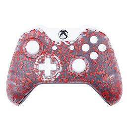 Xbox One Controller: 3D Splash Red & White XBOX ONE