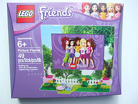 Lego Friends, Picture Frame - 853393 Blocks and Bricks