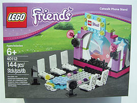 Lego Friends Catwalk Phone Stand, 40112 Blocks and Bricks