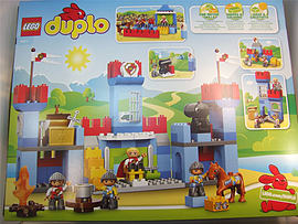 Lego 10577 Duplo Big Royal Castle Blocks and Bricks