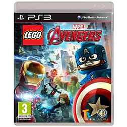 Lego Marvel Avengers PS3 Game PS3 Cover Art