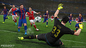 Pro Evolution Soccer 2017 screen shot 1