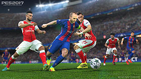 Pro Evolution Soccer 2017 screen shot 2