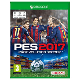 Pro Evolution Soccer 2017 XBOX ONE Cover Art