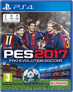 Pro Evolution Soccer 2017 PS4 Cover Art