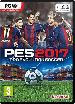 Pro Evolution Soccer 2017 PC Cover Art