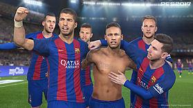 Pro Evolution Soccer 2017 screen shot 4