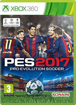 Pro Evolution Soccer 2017 XBOX360 Cover Art