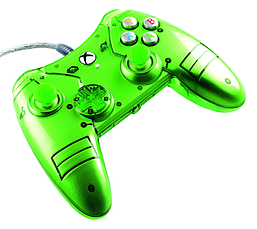 Xbox One Licensed Liquid Metal Controller - Green XBOX ONE