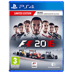 F1 2016 - Limited Edition PS4 Cover Art