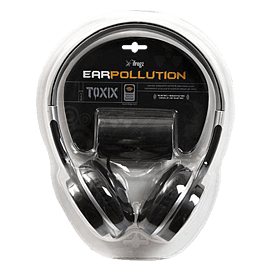 iFrogz Toxix Headphones with microphone - Colour: Black Audio