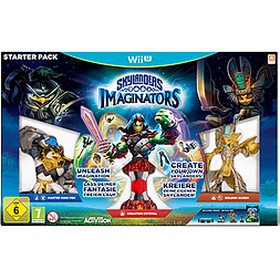 Skylanders Imaginators Wii U Cover Art