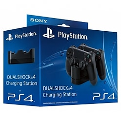 Official Sony PlayStation DualShock 4 Charging Station (UK Plug) PS4 PS4