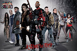 SUICIDE SQUAD Group Maxi Poster 61 X 91.5 cm Posters