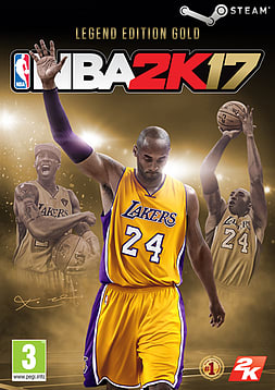 NBA 2K17 Legend Edition Gold PC Downloads Cover Art