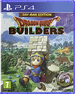 Dragon Quest Builders - Day One Edition PS4 Cover Art
