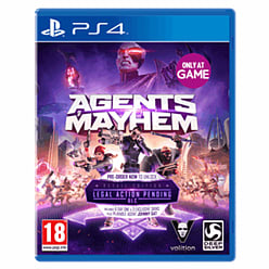 Agents of Mayhem - Only at GAME PS4 Cover Art