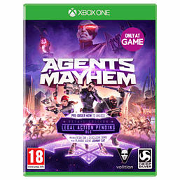 Agents of Mayhem - Only at GAME XBOX ONE Cover Art