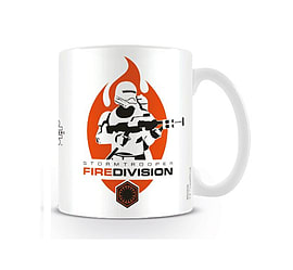 Star Wars Mug 7 force awakens Stormtrooper Fire Division new Official BoxedSize: Home - Tableware