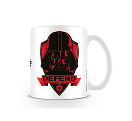Star Wars Mug Force Awakens Defend The Empire new Official BoxedSize: Home - Tableware