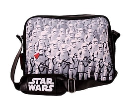 Star Wars Messenger Bag force awakens Trooper Army new Official Black BagSize: Clothing