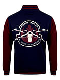 Star Wars The Force Awakens X-Wing Squadron Varsity Navy Men's Jacket: Large (Mens 40- 42) screen shot 1