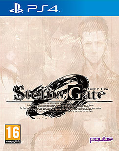 Steins Gate Zero Limited Edition PS4 Cover Art