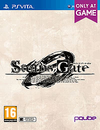 Steins Gate Zero Limited Edition - Only at GAME PS Vita Cover Art