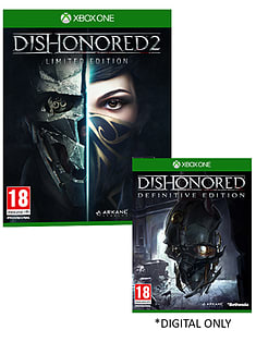 Dishonored 2 Limited Edition XBOX ONE Cover Art