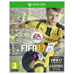 FIFA 17 XBOX ONE Cover Art