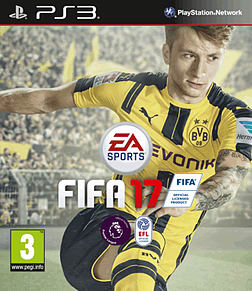 FIFA 17 PS3 Cover Art