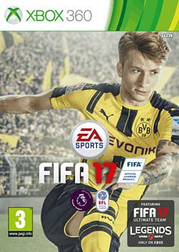FIFA 17 XBOX360 Cover Art