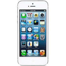 iPhone 5 16GB White (Good Condition) Unlocked Phones