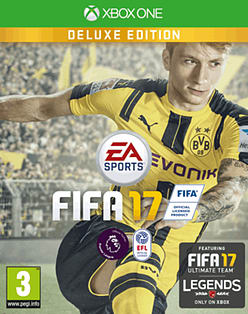 FIFA 17 Deluxe Edition XBOX ONE Cover Art