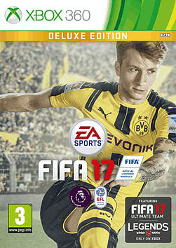 FIFA 17 Deluxe Edition XBOX360 Cover Art