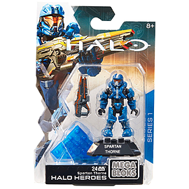 Mega Bloks Halo Heroes Thorne Figure Blocks and Bricks