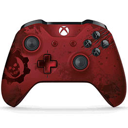 Xbox One Wireless Controller - Gears of War 4 Crimson Omen Limited Edition XBOX ONE