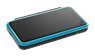 New Nintendo 2DS XL Black + Turquoise screen shot 1