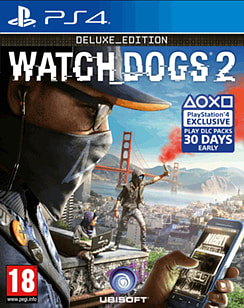 Watch Dogs 2 Deluxe Edition PS4 Cover Art