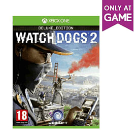 Watch Dogs 2 Deluxe Edition - Only at GAME XBOX ONE Cover Art