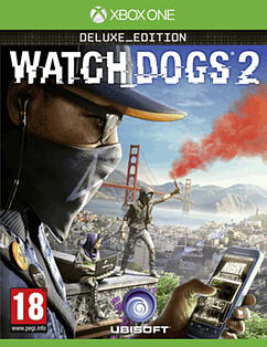 Watch Dogs 2 Deluxe Edition XBOX ONE Cover Art