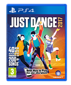 Just Dance 2017 PS4 Cover Art