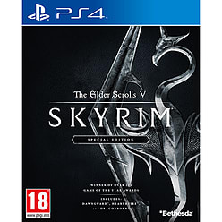 Skyrim Special Edition PS4 Cover Art