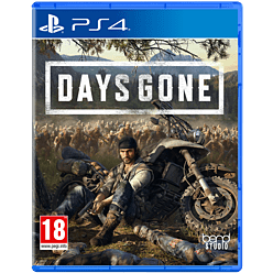 Days Gone PS4 Cover Art