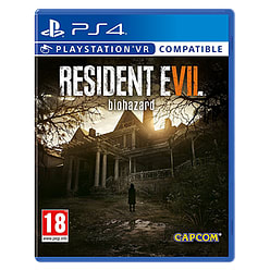 Resident Evil 7 Biohazard PS4 Cover Art
