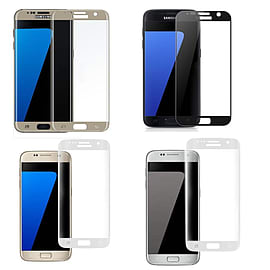 For Samsung Galaxy S7 3D Full Front Tempered Glass Screen Protector - UK Seller Mobile phones