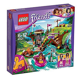 Adventure Camp Rafting - Lego Friends Blocks and Bricks