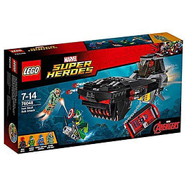 Iron Skull Sub Attack - Avengers - 76048 - LEGO Marvel Super Heroes Blocks and Bricks