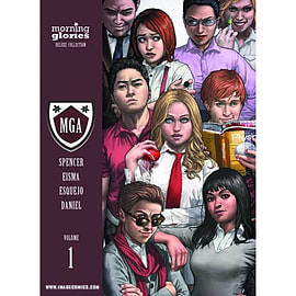 Morning Glories - Deluxe Edition - Vol 01 - HC (MR) Books